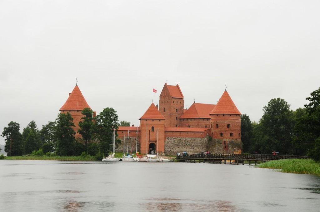 Изображение Тракайского замка