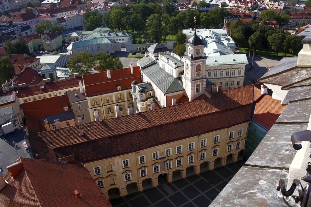 Изображение университетского городка сверху