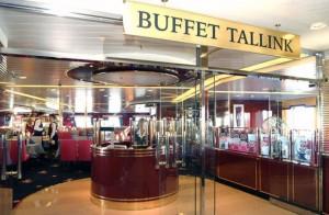 Фотография ресторана BUFFET TALLINK на пароме Таллин Стокгольм