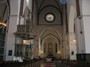 интерьер домского собора