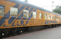 расписание поезда «Латвия»