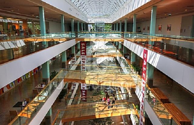 Торговый центр Гедимино в Вильнюсе