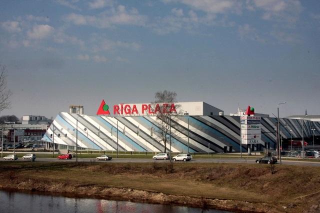 Магазин Rīga Plaza в Риге