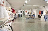 Бутик одежды в торговом центре Риги