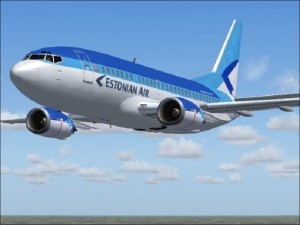 Борт компании estonian air