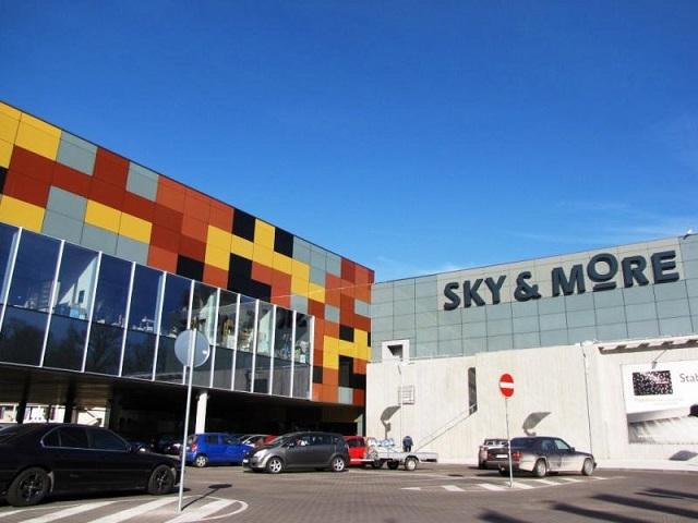 Рижский торговый центр  Sky&More