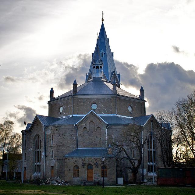 Александровская лютеранская церковь в Нарве
