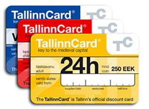 Билеты Tallinn card