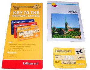 Брошюра Tallinn card