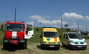 Латвийские спасатели