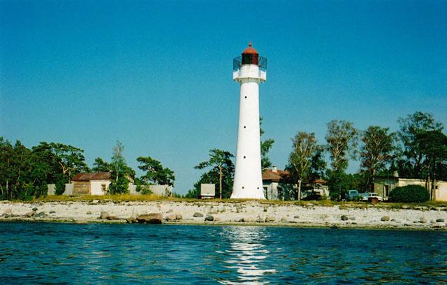 Остров Вормси - маяк