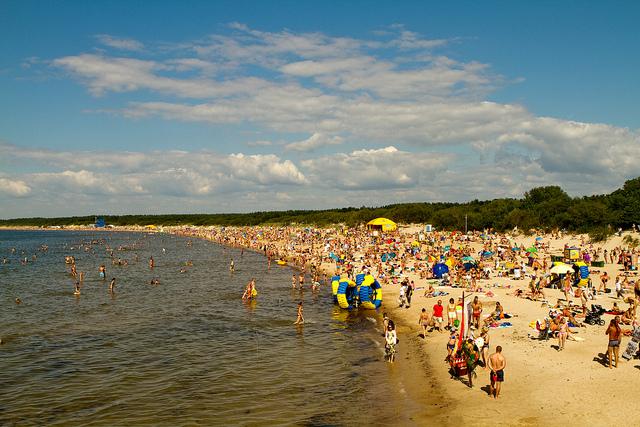 Пляжный отдых в Паланге