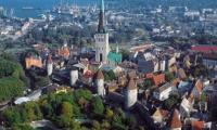 Таллин, вид сверху