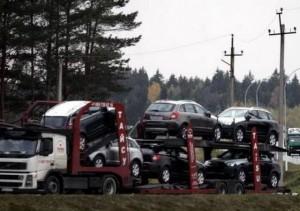 Перевоз машин в Литве