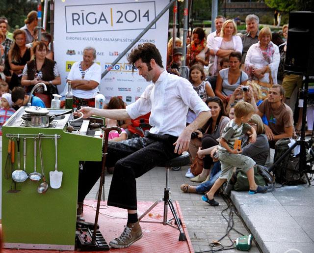 Фестиваль международного уличного искусства RE RE Riga