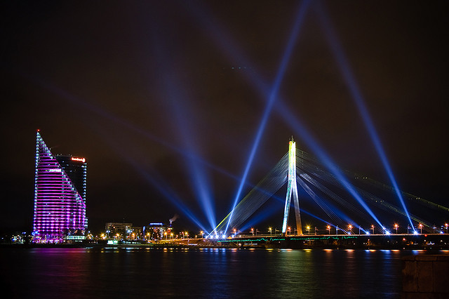 Фестиваль света «Staro Riga»