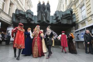 Фото открытия ярмарки Казюкаса в Вильнюсе