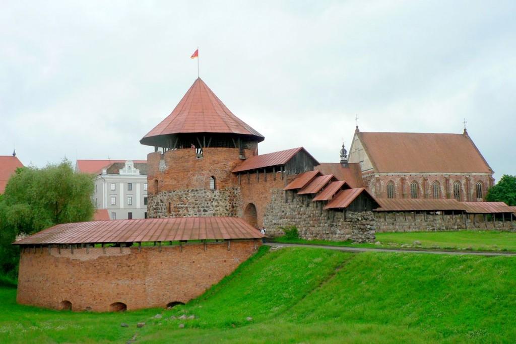 изображение каунасского замка в литве