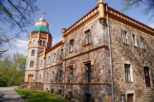 Изображение нового замка в Сигулде