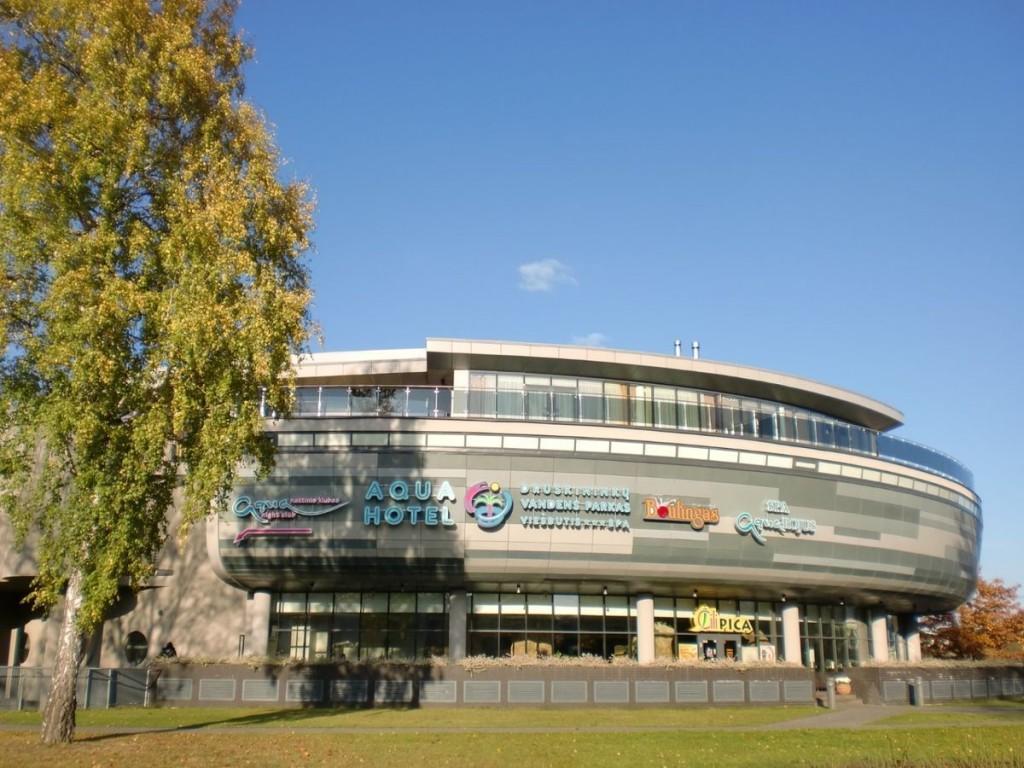 Изображение строения аквапарка