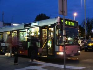 Изображение автобуса в Вильнюсе