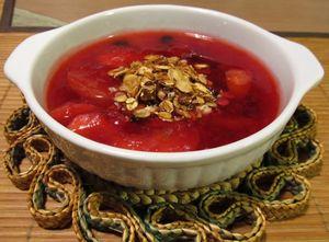 Эстонское блюдо сладкий суп