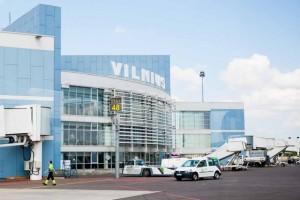 Фотография здания Международного аэропорта в Вильнюсе