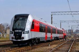 Фото поезда Минск - Вильнюс