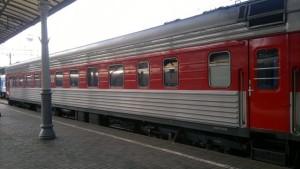 Фото поезда Москва Вильнюс