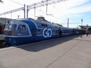 Изображение поезда СПб - Таллин