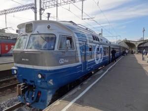 Изображение поезда Санкт-Петербург — Таллин