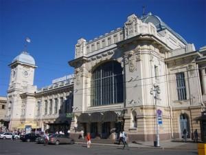 Вид на Витебский вокзал Санкт-Петербурга