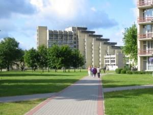 Фото одного из гостеприимных санаториев Литвы