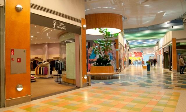 Магазин Atrium Azur в Риге