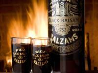 Национальный латвийский напиток - рижский бальзам
