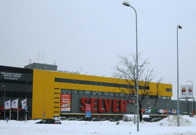 Торговый центр Jarve Keskus в Таллине