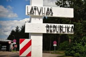 Указатель на республику Латвия