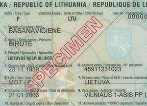 Женская литовская фамилия