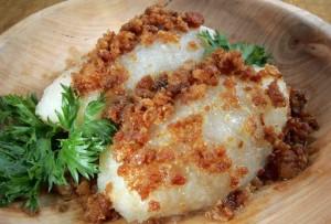 Национальное блюдо Литвы - цеппелины