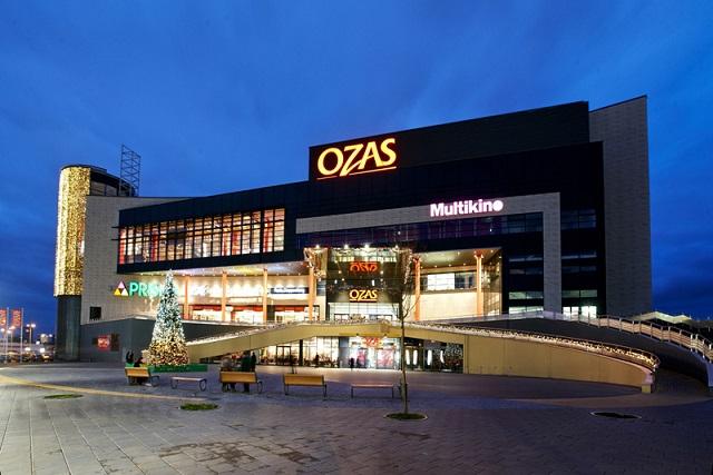 Торговый центр Озас в Вильнюсе