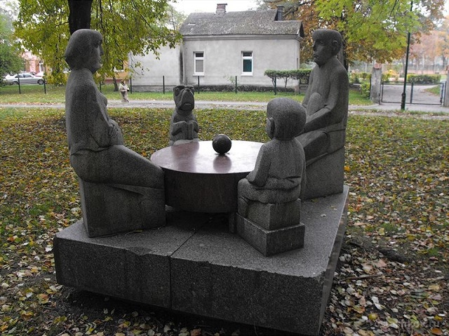 Парк скульптур в Клапейде