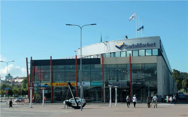 Торговый центр SadaMarket в Таллине