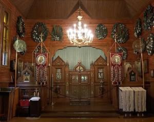 Сергиевская церковь в комплексе Пюхтицкого женского монастыря