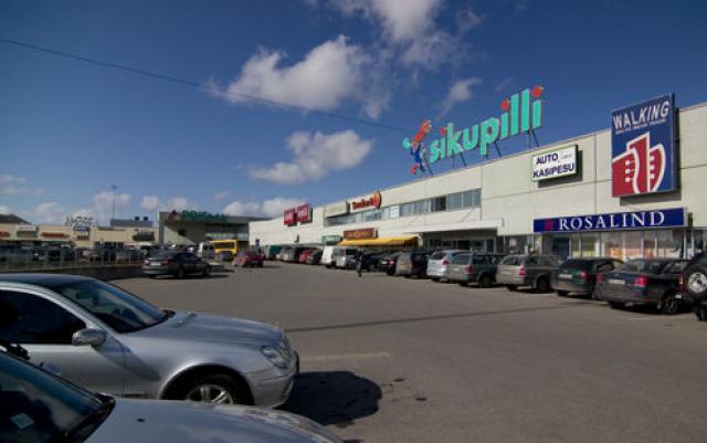 Торговый центр Sikupilli Keskus в Таллине