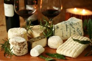 Сырная закуска для красного вина