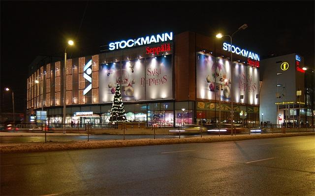 Магазин Stockmann в Риге