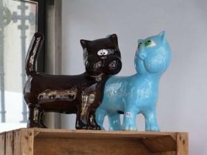 Игрушки ручной работы из Вильнюса - коты
