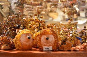 Рижские украшения из янтаря