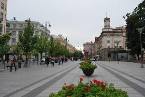 Теплый сезон в Вильнюсе
