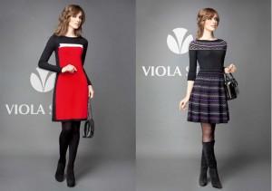 Трикотажные платья от Виола Стилс